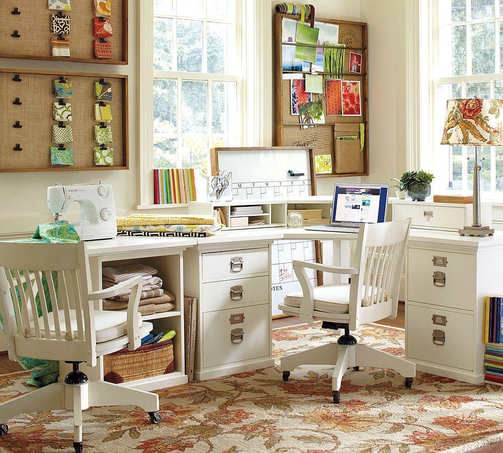 Holiday Decor Gift Ideas Pottery Barn Edition All My: Bedford Corner Desk Set