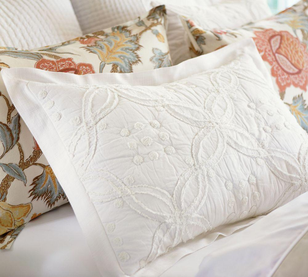Candlewick Quilt Amp Pillowcase Pottery Barn Au