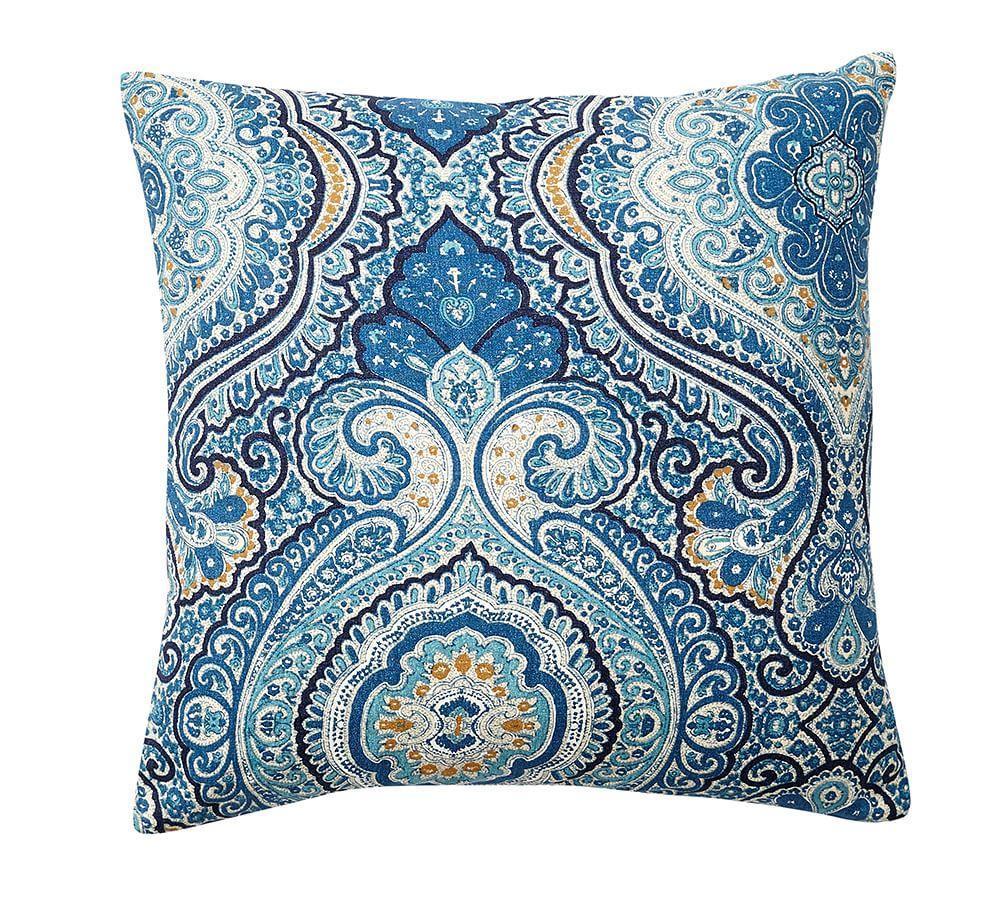 Beale Paisley Reversible Cushion Cover Pottery Barn Au