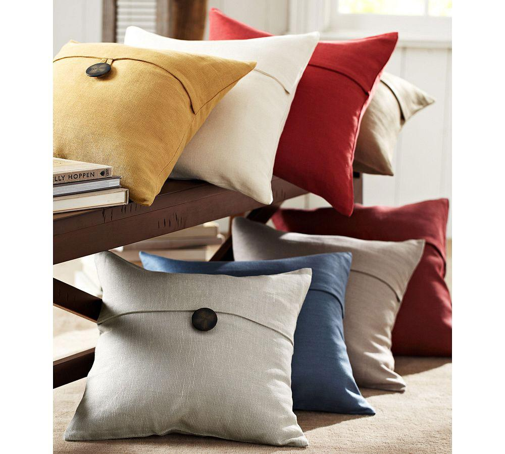 Textured Linen Cushion Cover Pottery Barn Au