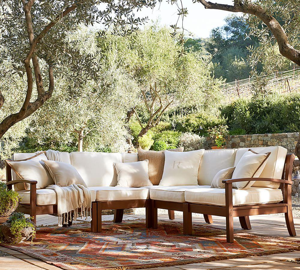 Pottery Barn Outdoor Furniture Reviews: Build Your Own - Chatham Sectional Components