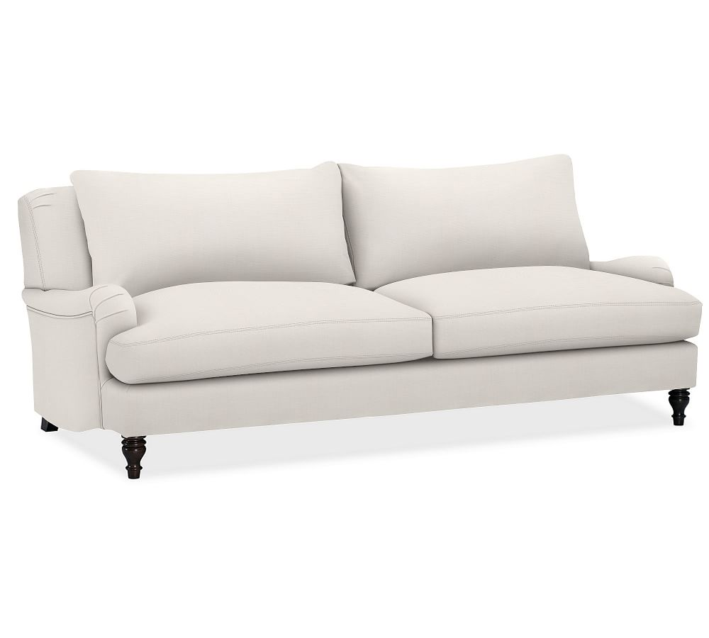 carlisle upholstered sofa ivory 203 cm 230 cm pottery barn au. Black Bedroom Furniture Sets. Home Design Ideas