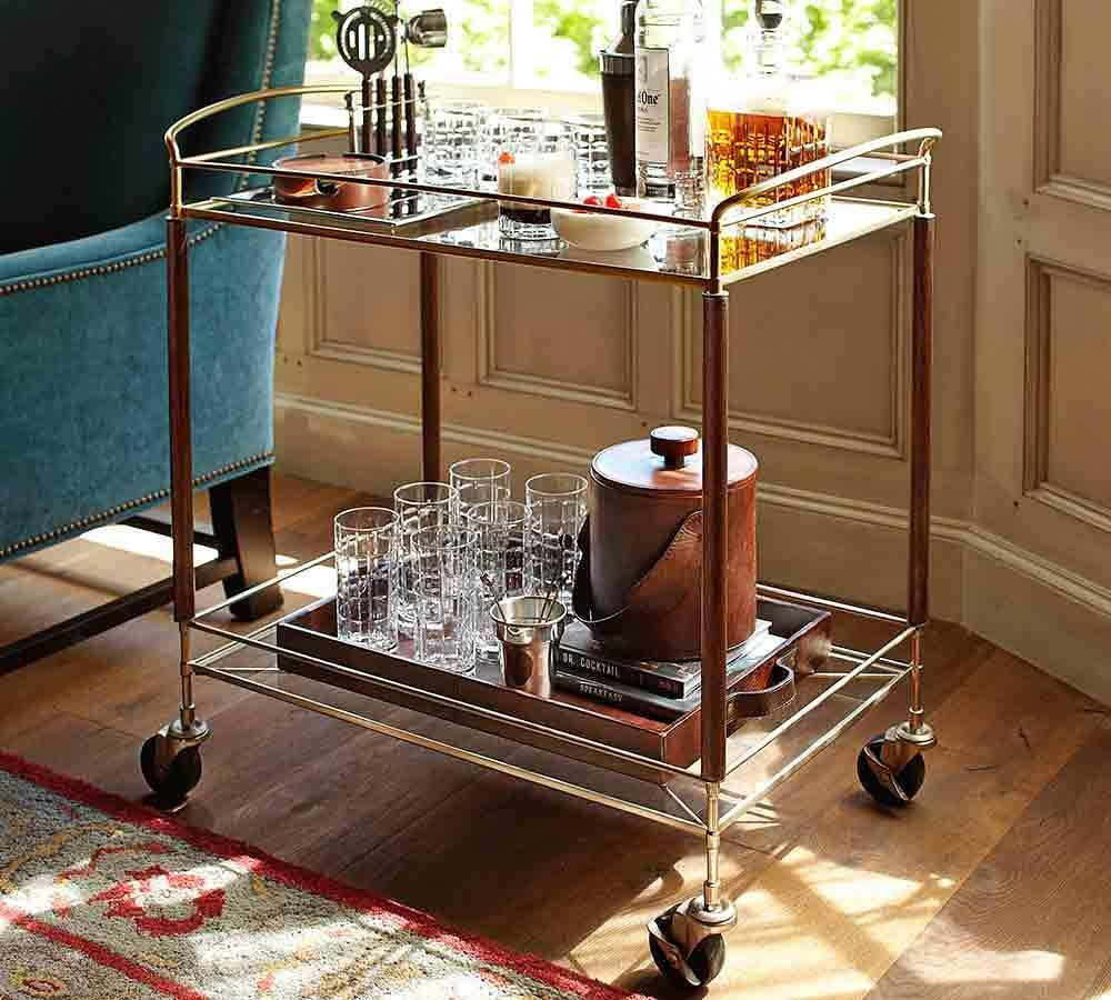 Brady Bar Cart Pottery Barn Au