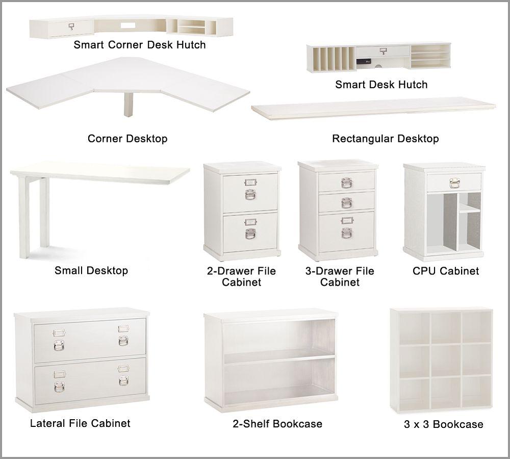 Bedford Modular Component Desk