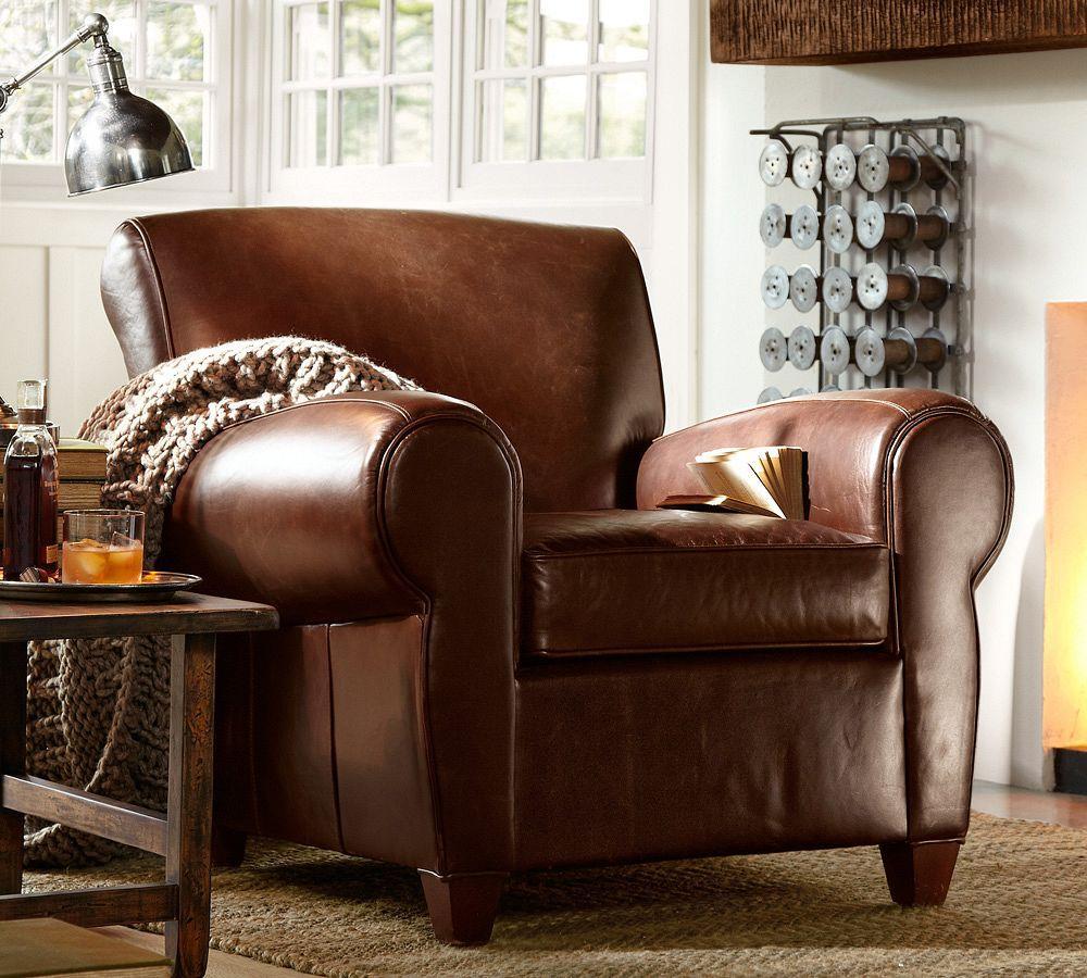 Manhattan Leather Arm Chair
