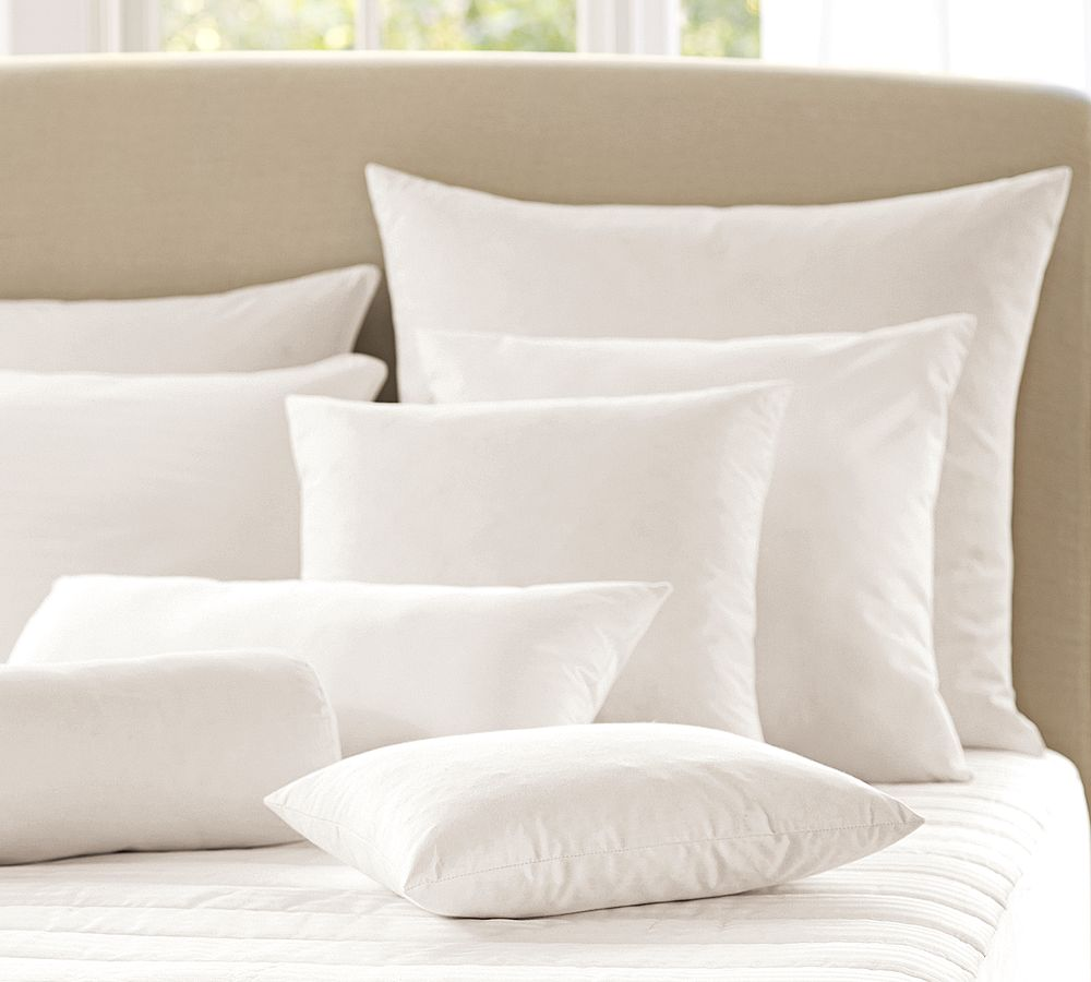 Feather pillows pottery barn au for Best down pillow inserts