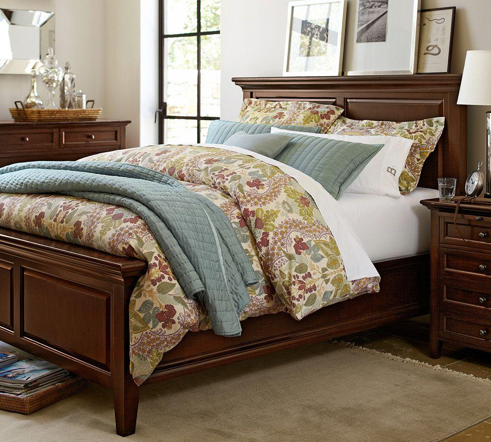 Pottery Barn Bedroom Bed