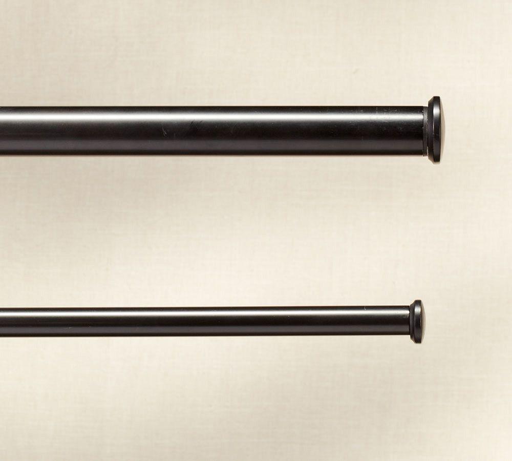 Pb Standard Endcap Finial Drape Rod Antique Bronze Finish