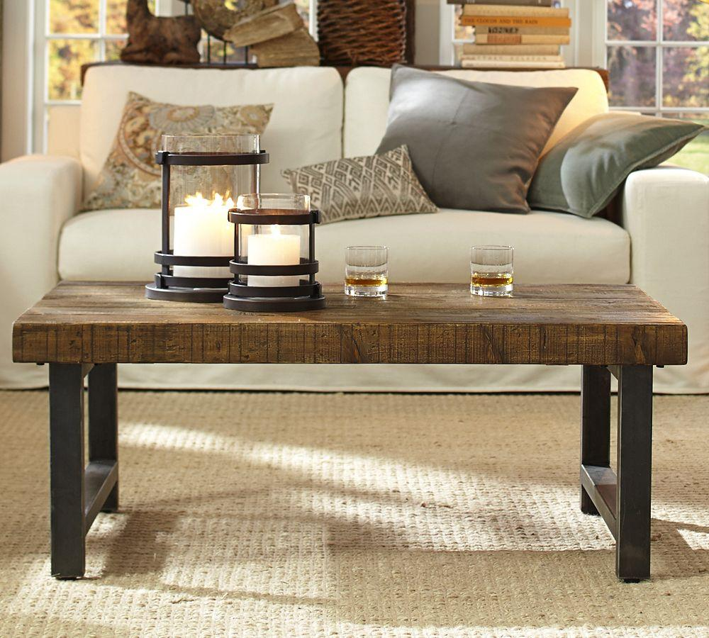 Pottery Barn Benchwright Coffee Table Seadrift: Griffin Coffee Table