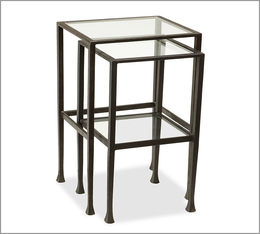 Nesting Coffee Table Pottery Barn: Tanner Nesting Tables