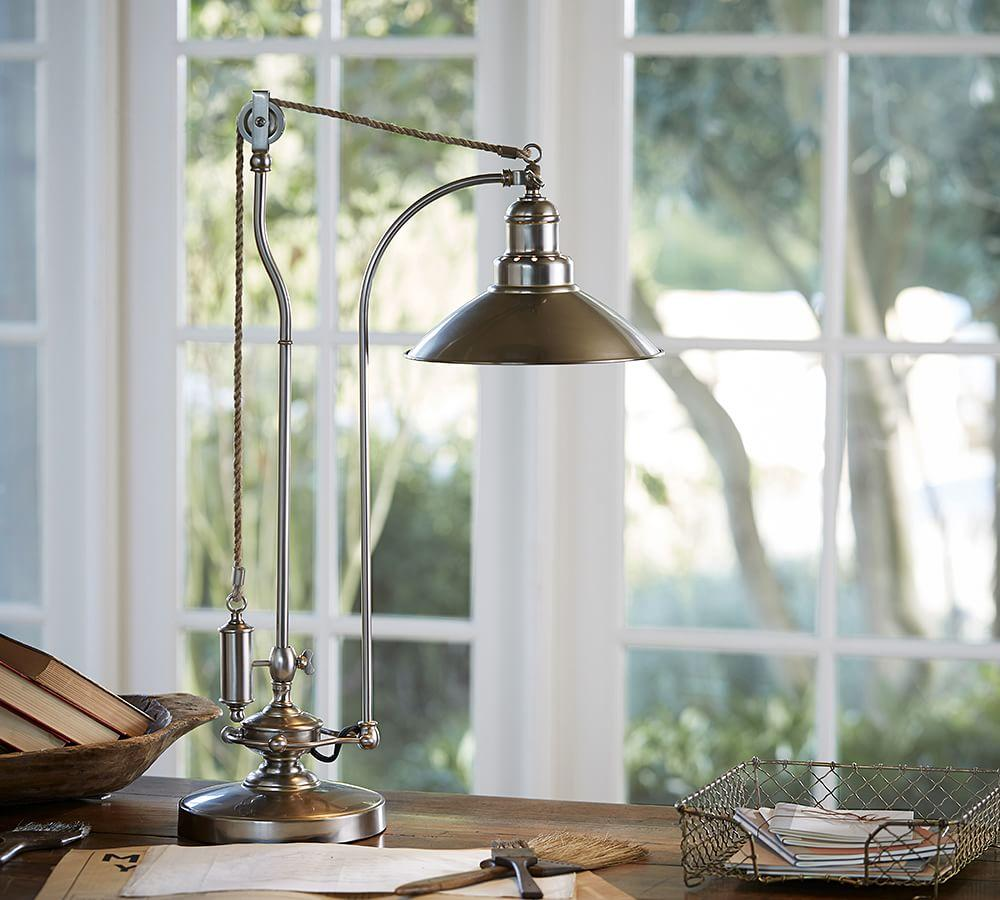 Pottery Barn Marston Lamp: Desk Lamps, Desk Lighting & Table Lamps Lighting