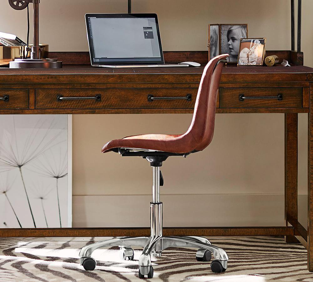 Mitchell Swivel Desk Chair Pottery Barn Au