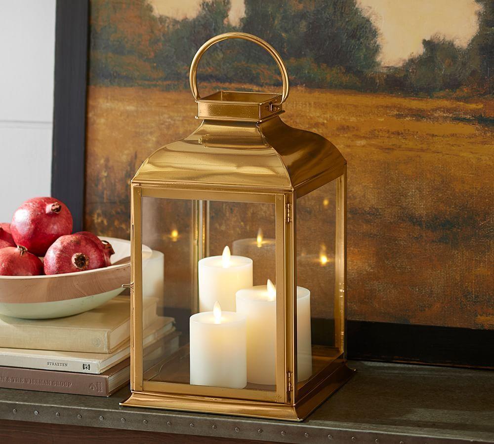 Arlington Brass Lantern Pottery Barn Au