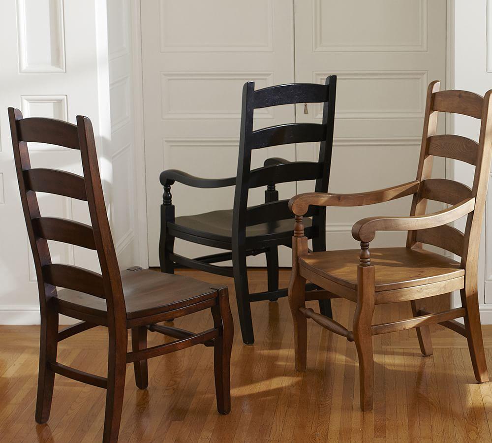 Wynn ladderback chair pottery barn au - Restaurant dining room chairs ...