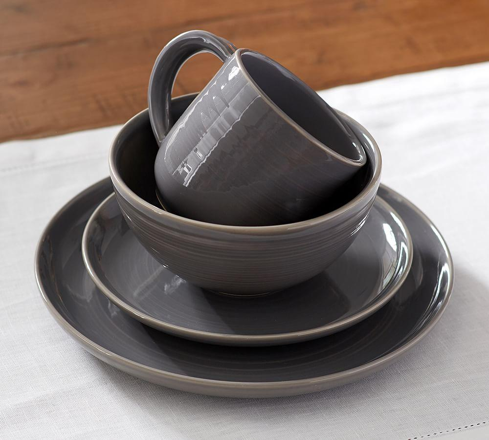 Joshua Dinnerware - Grey
