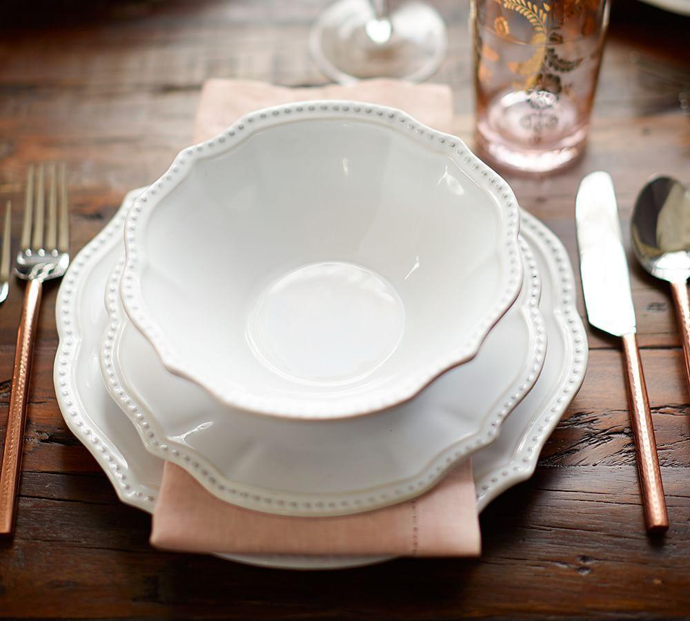 Leila Dinnerware Pottery Barn AU
