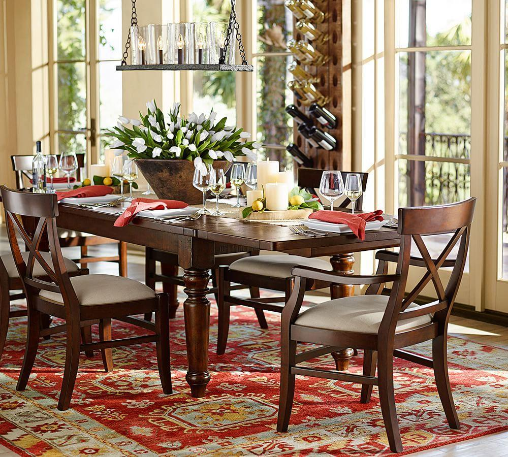 Pottery Barn Dining Room: Aaron Wood Seat Chair