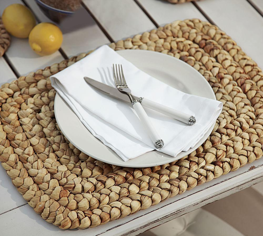 Water Hyacinth Place Mat Pottery Barn Au