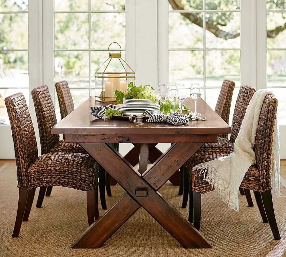 Toscana Extending Rectangular Dining Table Pottery Barn AU