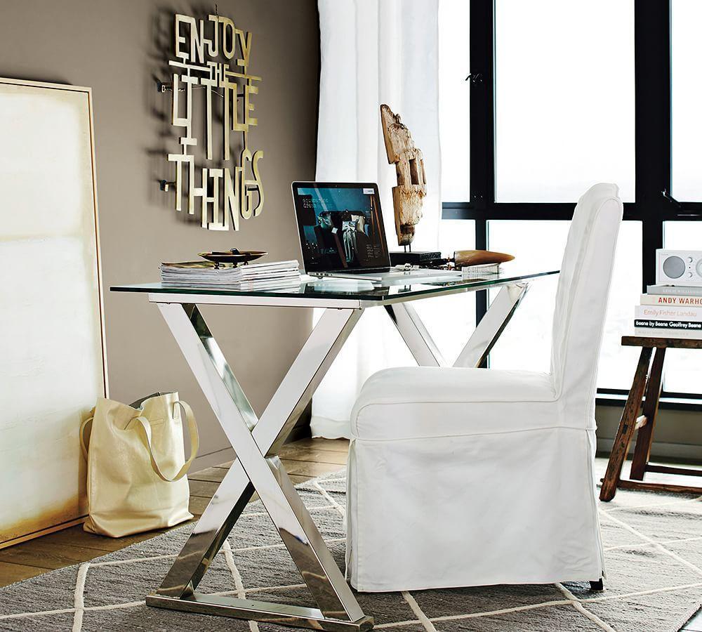 Ava Metal Desk