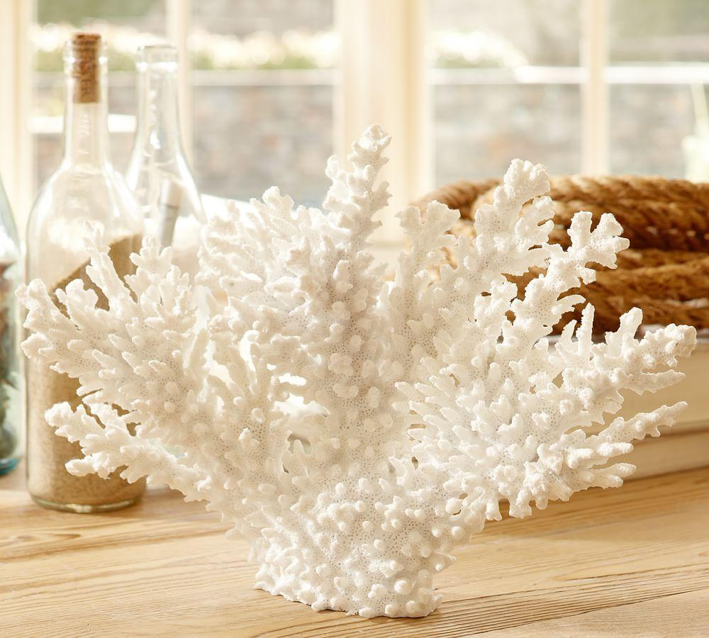 White Spike Coral Pottery Barn AU