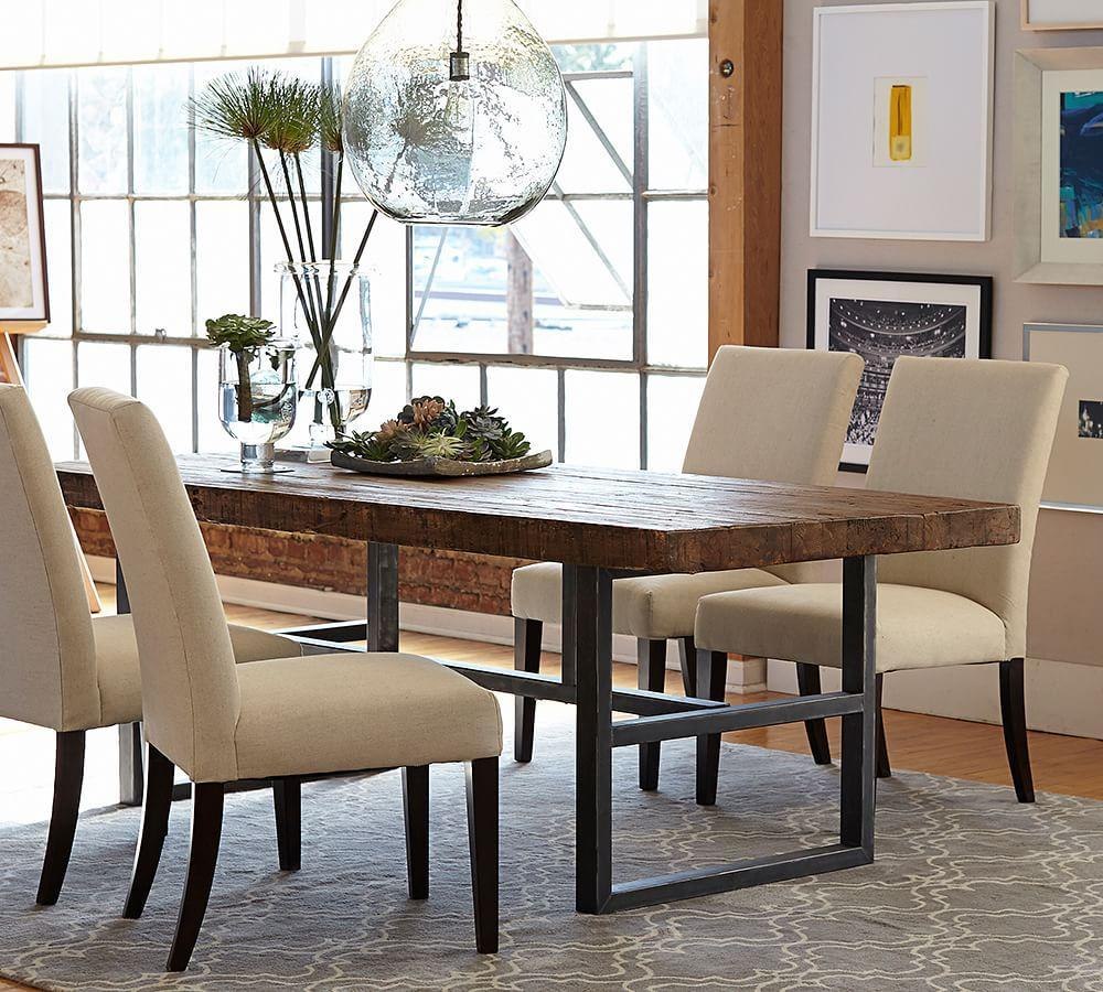 furniture dining tables griffin fixed dining table