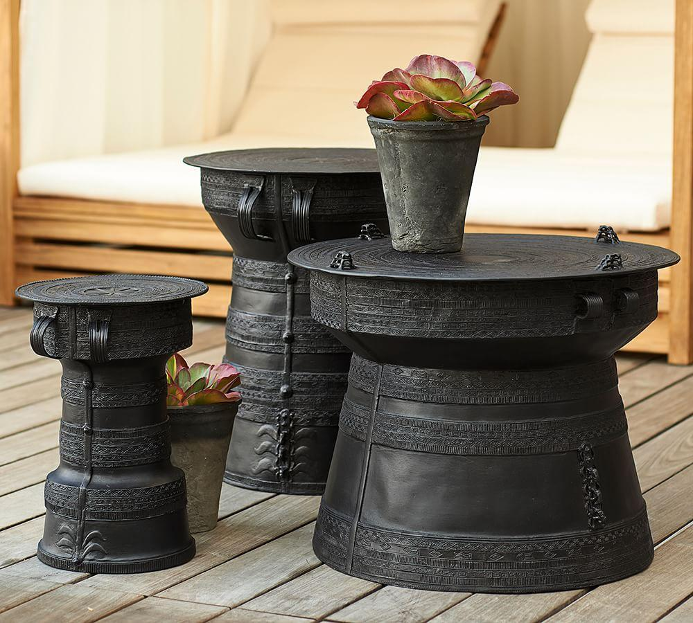 Frog Drum Accent Tables Pottery Barn Au
