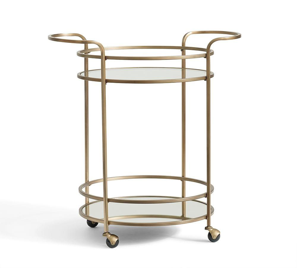 Tristan Bar Cart Pottery Barn AU