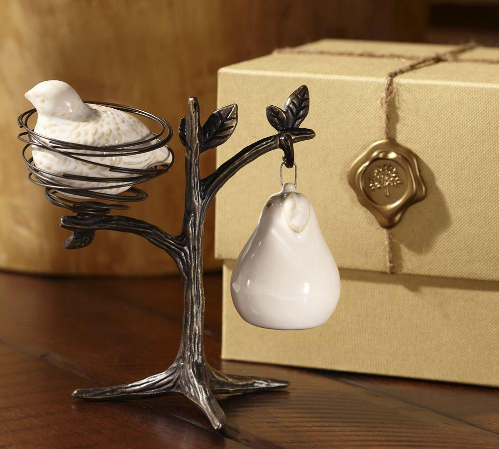 Partridge In A Pear Tree Salt Amp Pepper Shakers Pottery