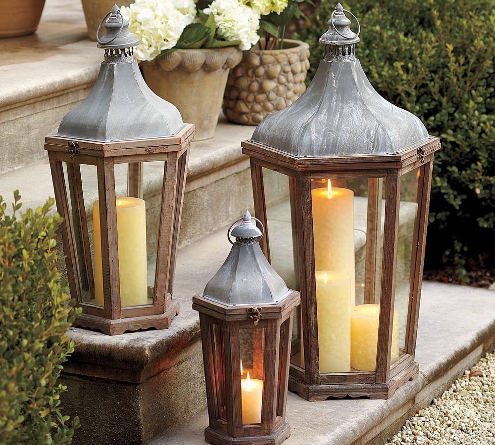 park hill lantern pottery barn au. Black Bedroom Furniture Sets. Home Design Ideas