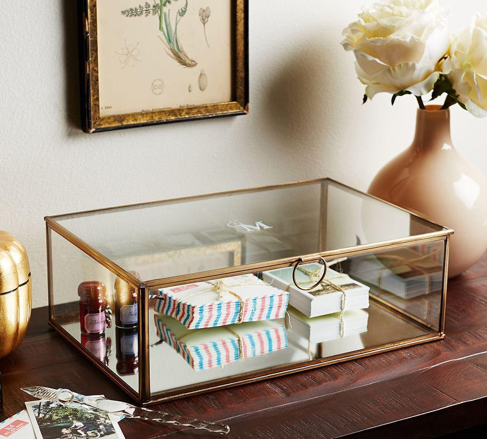 Callie Glass Boxes Pottery Barn Au