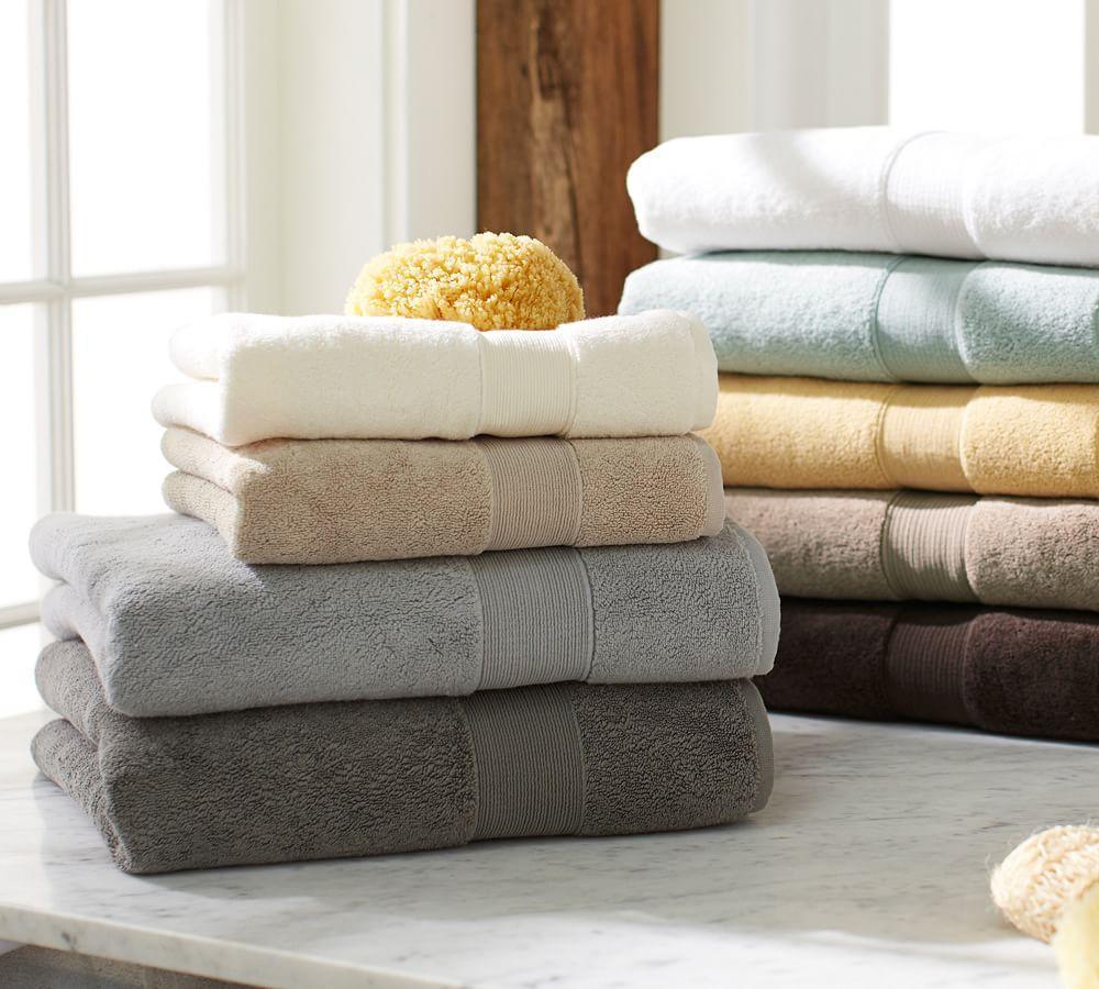 Pb Classic 820 Gram Weight Bath Towels Pottery Barn Au