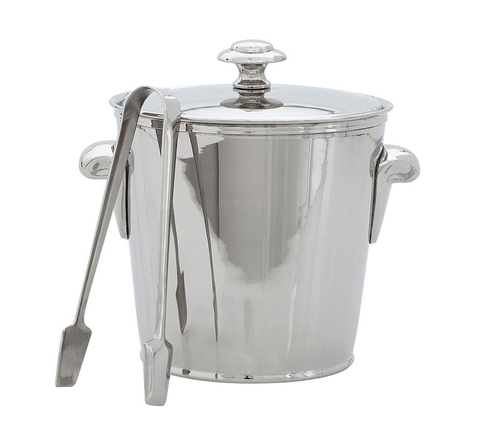 Harrison Ice Bucket with Tongs