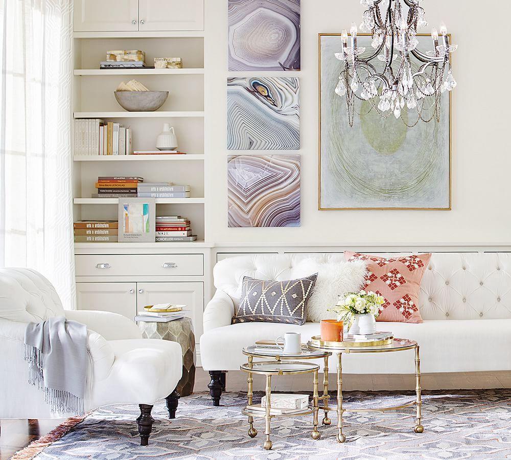Clara Apartment Sofa - Oatmeal (190 Cm)