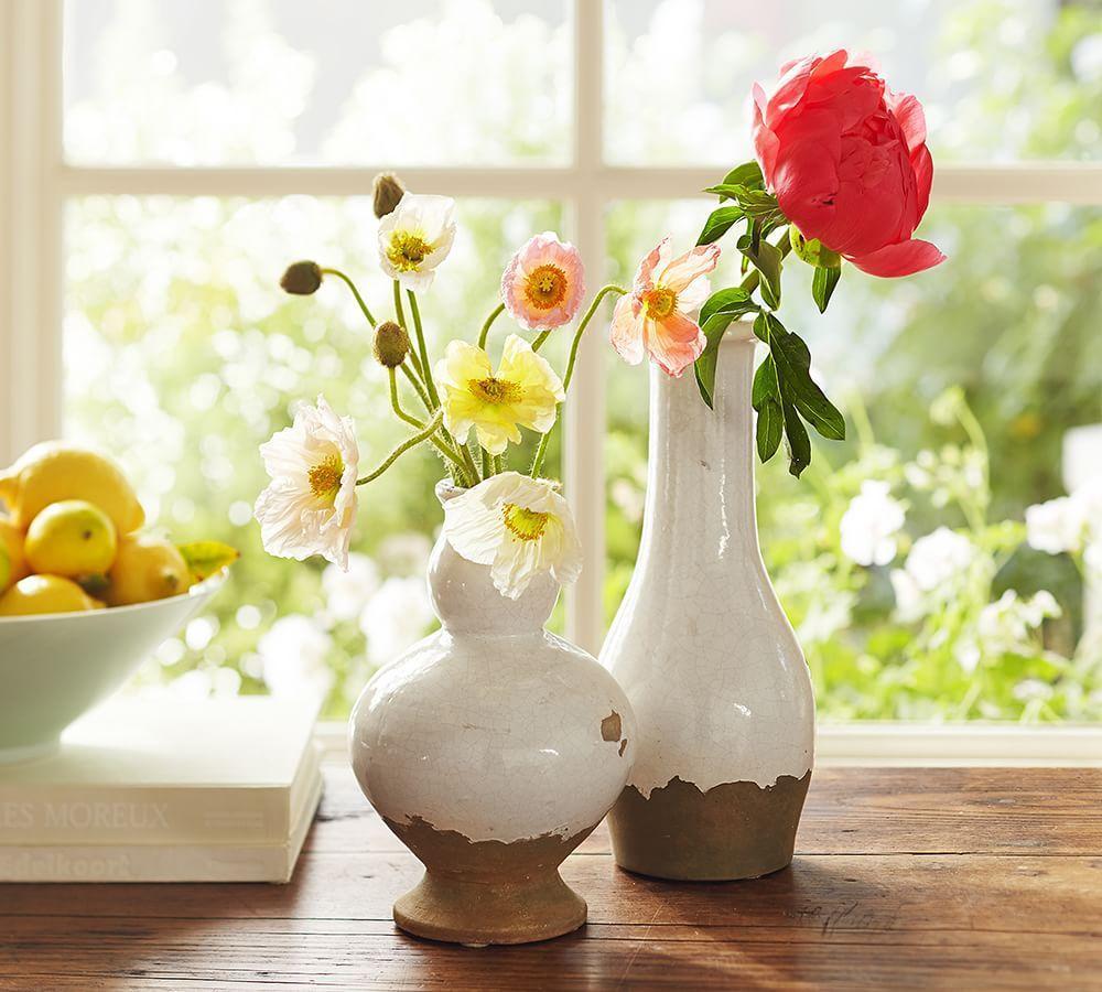 Tuscan Terracotta Vases