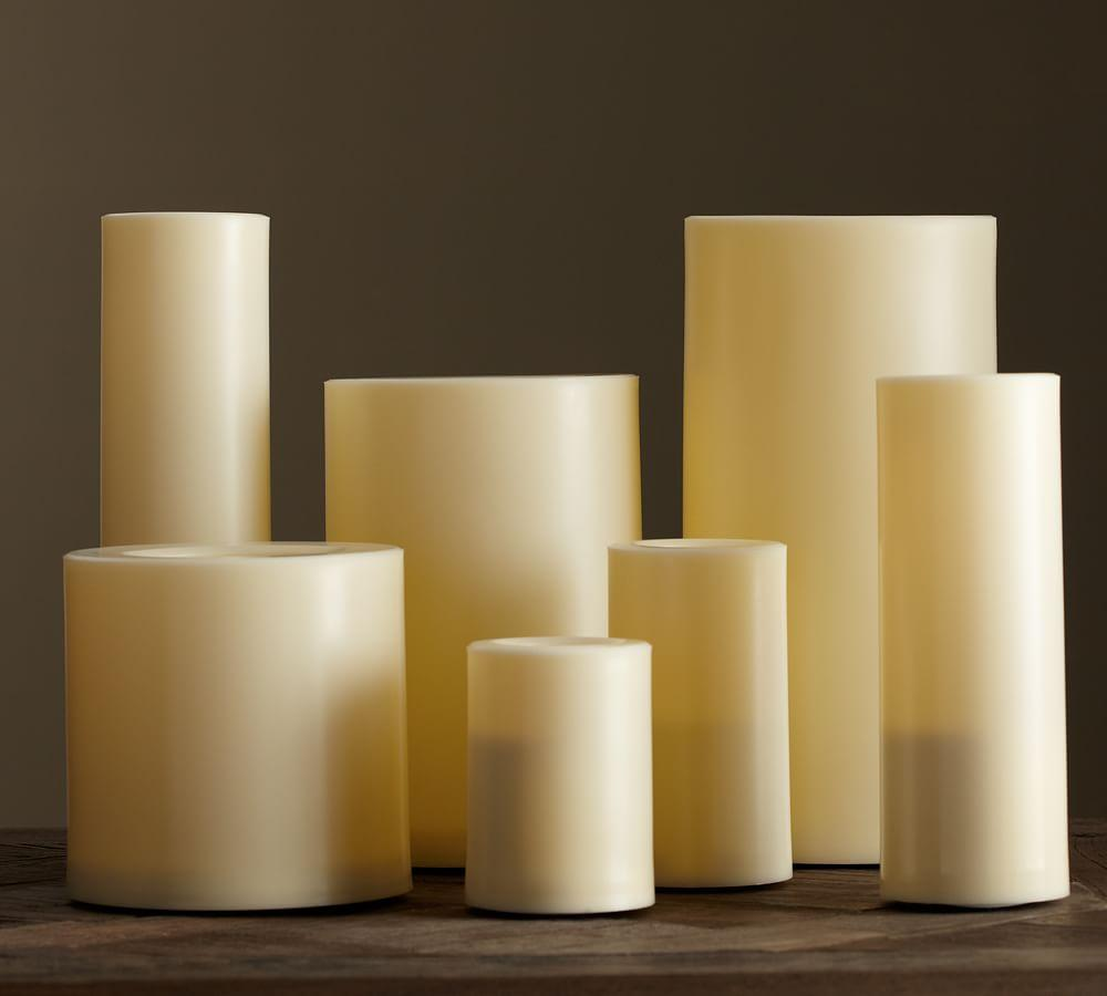 Flameless outdoor candle pottery barn au for Large outdoor christmas candles