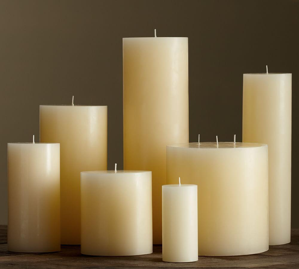 PB Pillar Candle - Ivory