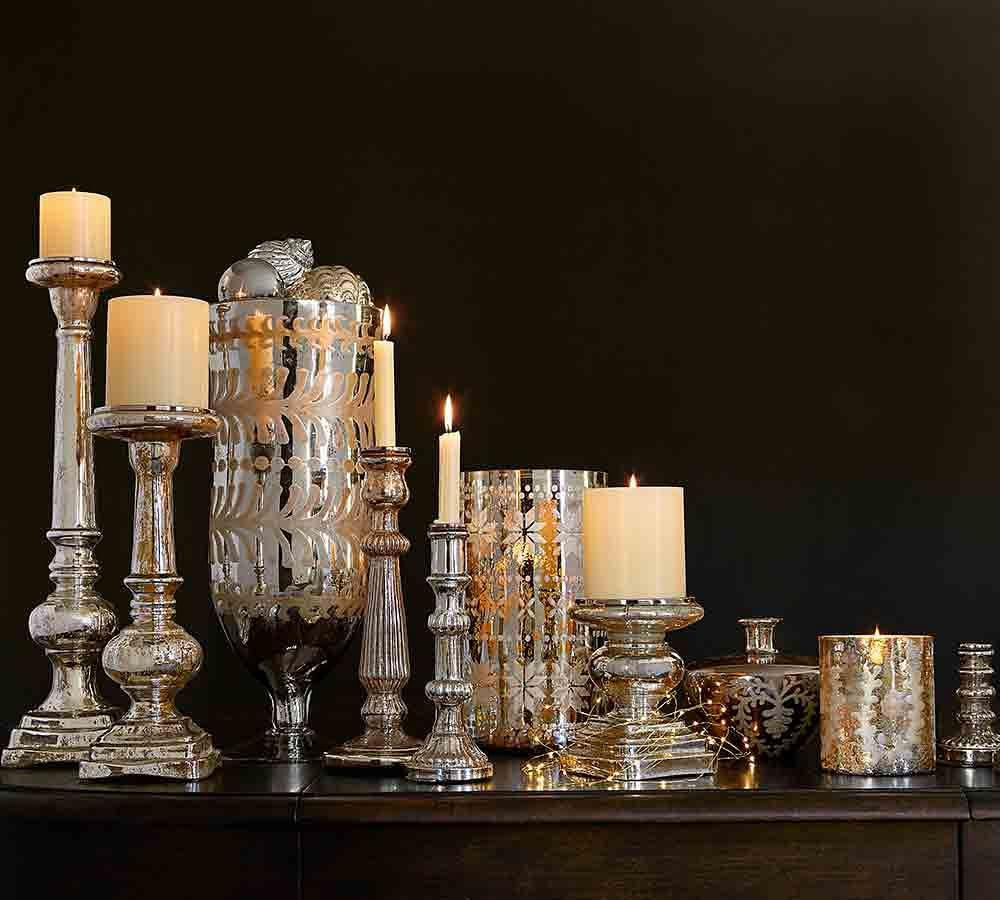 Pb Pillar Candle Ivory Pottery Barn Au