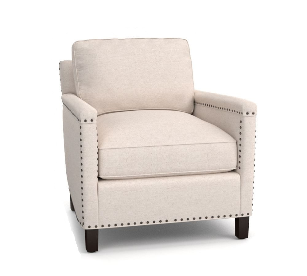 Tyler Upholstered Armchair | Pottery Barn AU