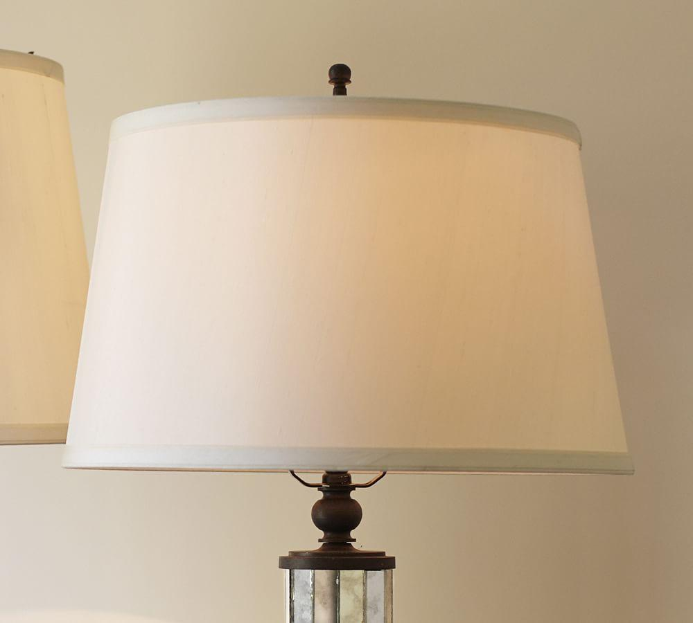 Silk tapered drum lamp shade pottery barn au silk tapered drum lamp shade aloadofball Gallery