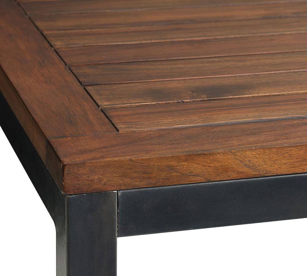 Pottery barn rectangular dining table - Carmen Teak Side Table