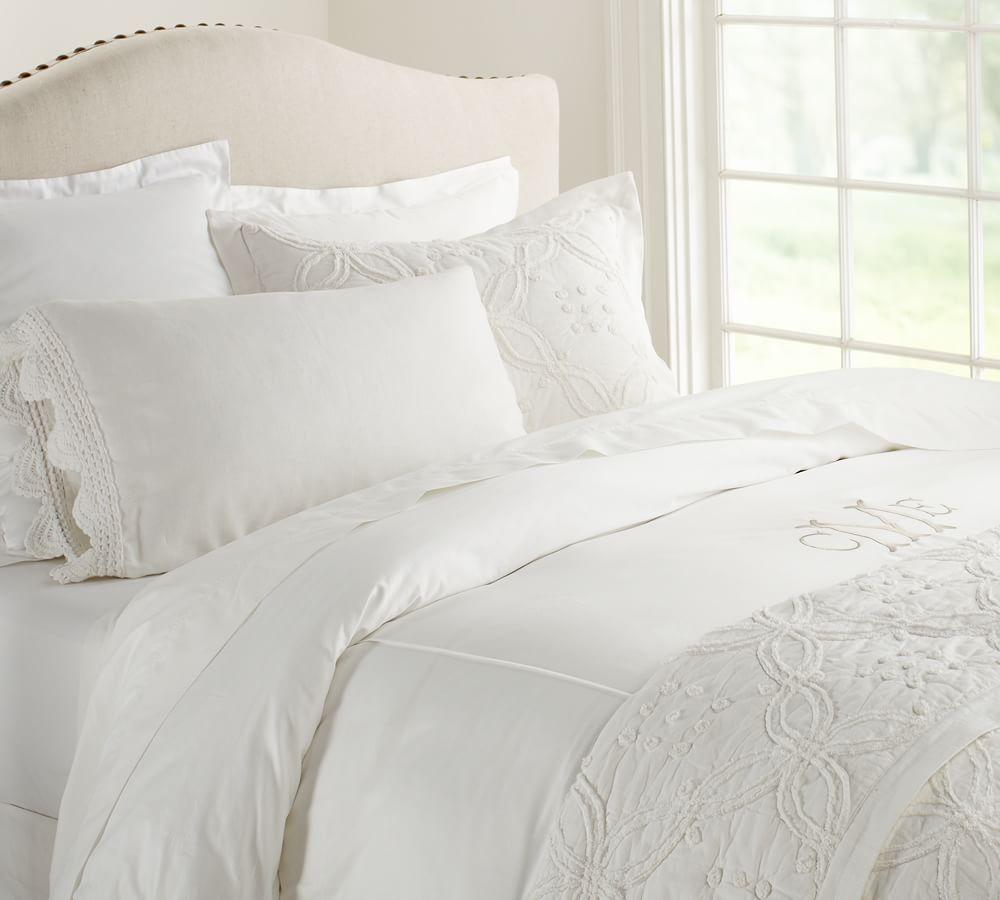 pb essential quilt cover pillowcase white pottery With essentials bed linen