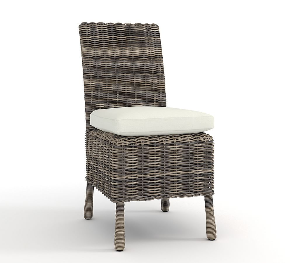 huntington all weather wicker dining chair pottery barn au. Black Bedroom Furniture Sets. Home Design Ideas