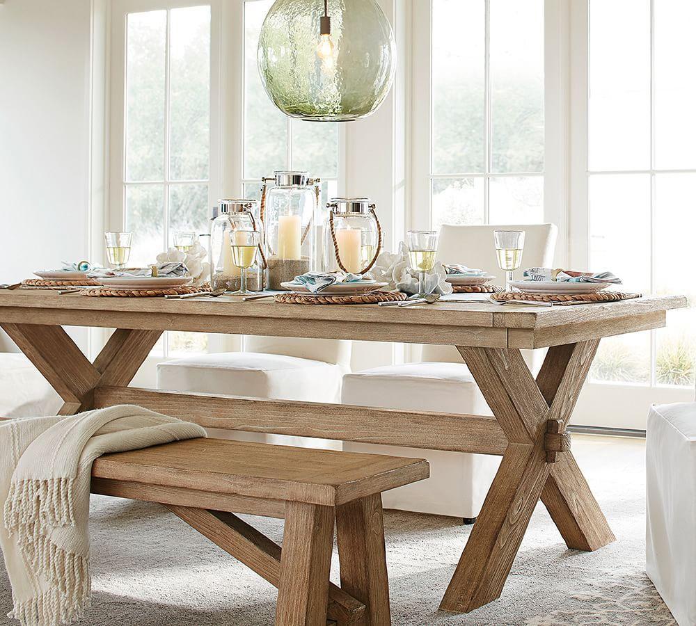 Toscana Extending Dining Table - Seadrift | Pottery Barn AU