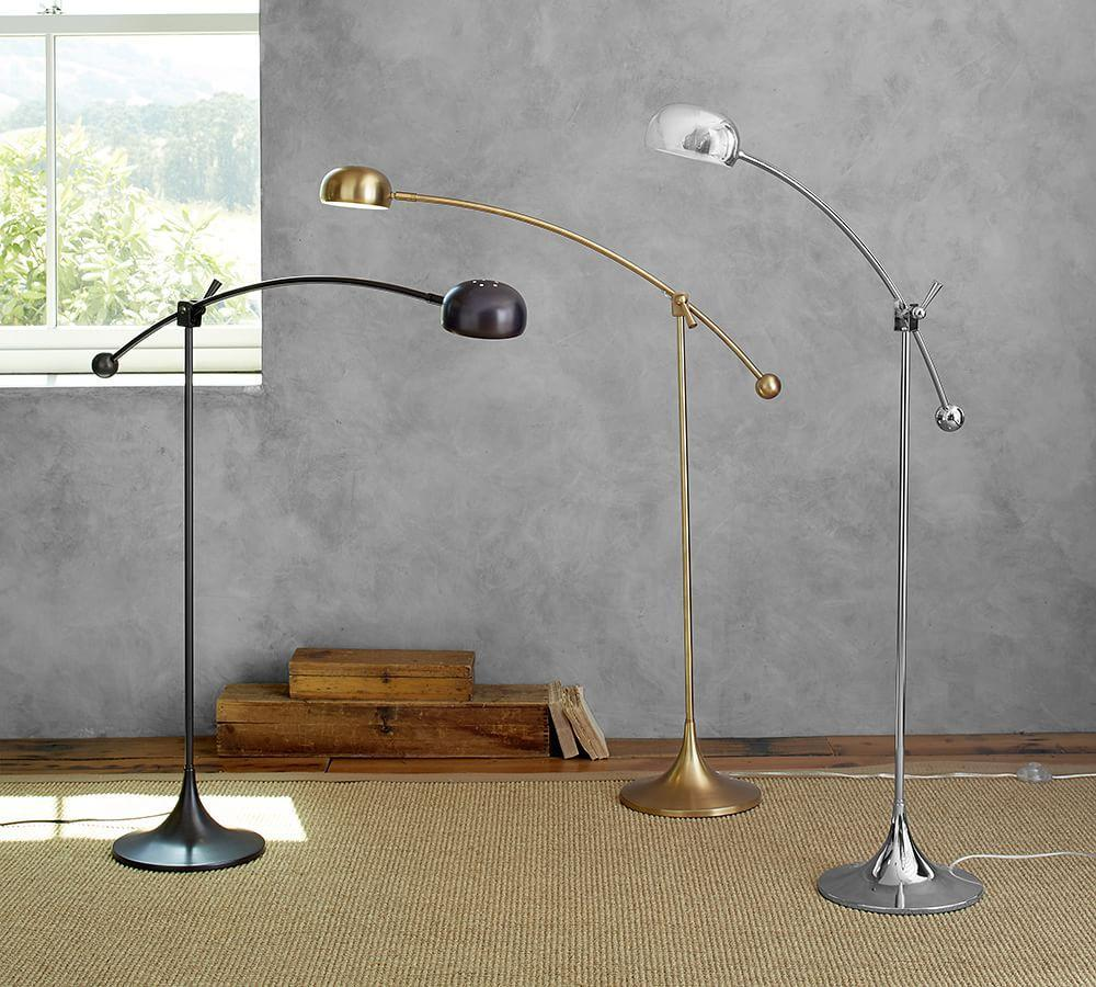 Larkin Led Task Floor Lamp Pottery Barn Au