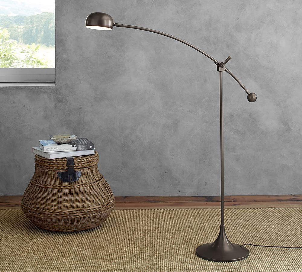 Larkin Led Task Floor Lamp Pottery Barn Au