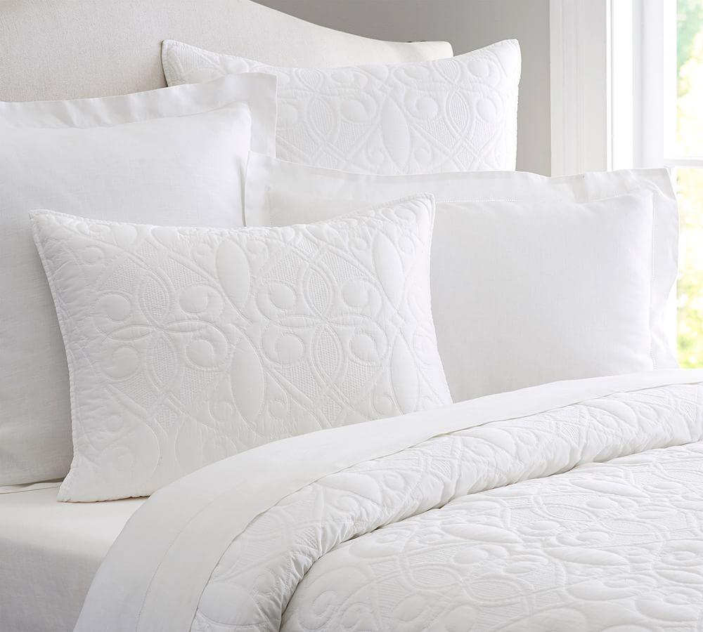 Washed Cotton Quilt Amp Pillowcases Pottery Barn Au