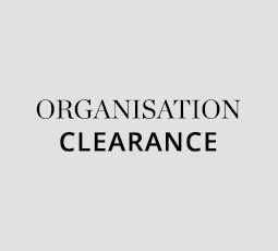 Organisation Clearance