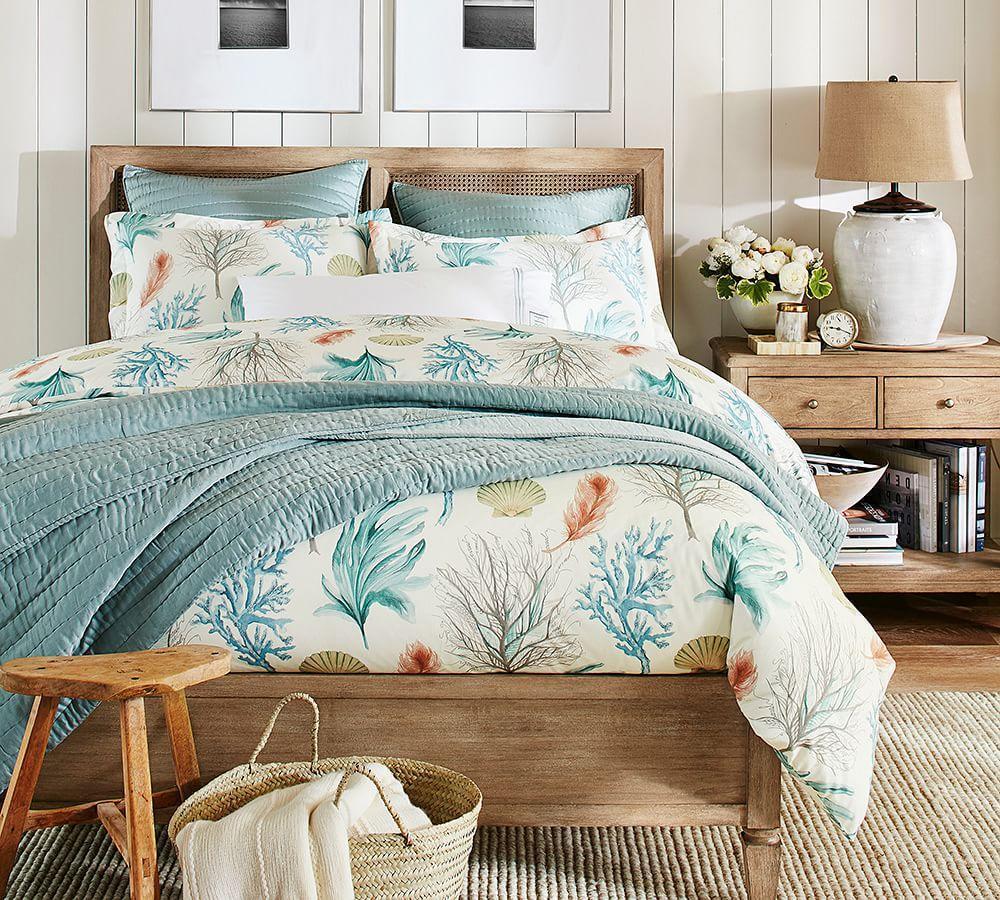 Del Mar Coastal Quilt Cover & Pillowcase | Pottery Barn AU