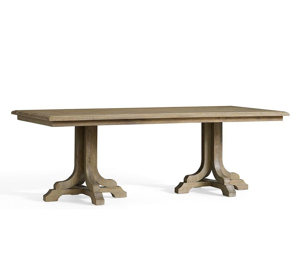 Linden Fixed Table Pottery Barn Au